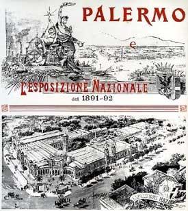 Risultati immagini per esposizione 1891 palermo